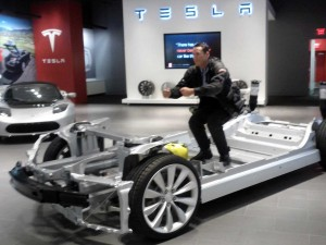 Tesla S frame